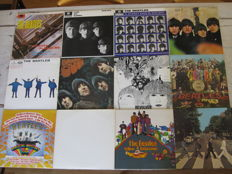 The Beatles: Lot of all 13 studio albums! (14 lp's)