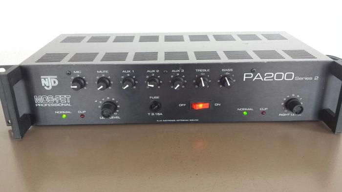 Mos-Fet Professional - NJD PA200 Series 2 - amplifier (tested)