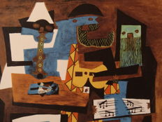Pablo Picasso (after) - Three Musicans