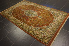 Oriental carpet Indo Tabriz 200 x 125 cm, Made in India at the end of the last century