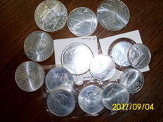 14 silver coins Portugal / Spain various Values and minting years - see desciption