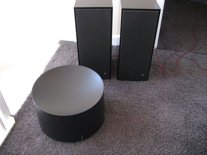 1 x BeoVox Cona (subwoofer) & 2 x BeoVox HT 2600 (upgraded) Black
