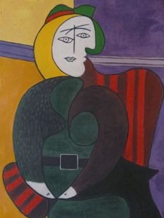 Pablo Picasso (after) - The Red Armchair