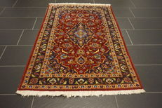 Beautiful, finely handwoven Persian palace carpet, Kashan, cork, 100 x 160 cm, made in Iran