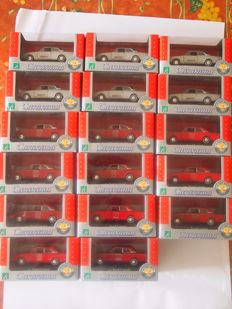 Cararama - Scale 1/43 - Lot with 17 Ford Corsair