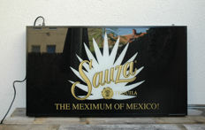 Sauza Tequila illuminated board / advertising board
