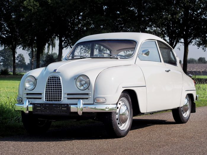 Saab 96 2-stroke Short Nose - 1962