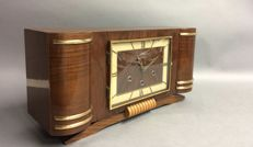 Wood mantel clock with Westminster striking mechanism -Vedette