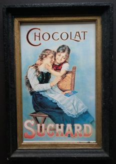 Advertising sign - CHOCOLAT SUCHARD - circa 1960
