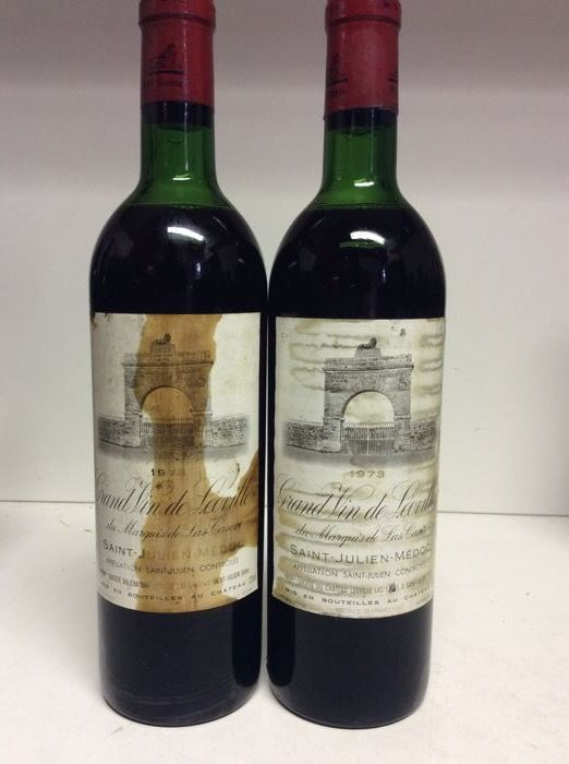 1973 Chateau Leoville-Las Cases 'Grand Vin de Leoville', Saint-Julien Grand Cru Classé, France - 2 bottles 0,73l