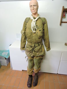 uniform US army paratrooper and also post-war WW2