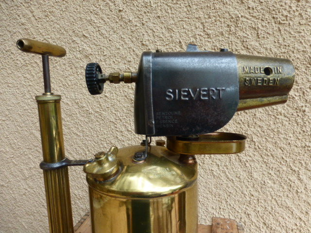Max Sievert - copper plumber's gas burner - type 263 - Catawiki