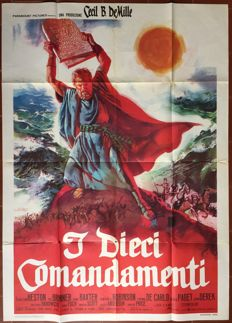 Anonymous - Les dix commandements / The ten commandments (Cecil B. De Mille, Charlton Heston) - circa 1960
