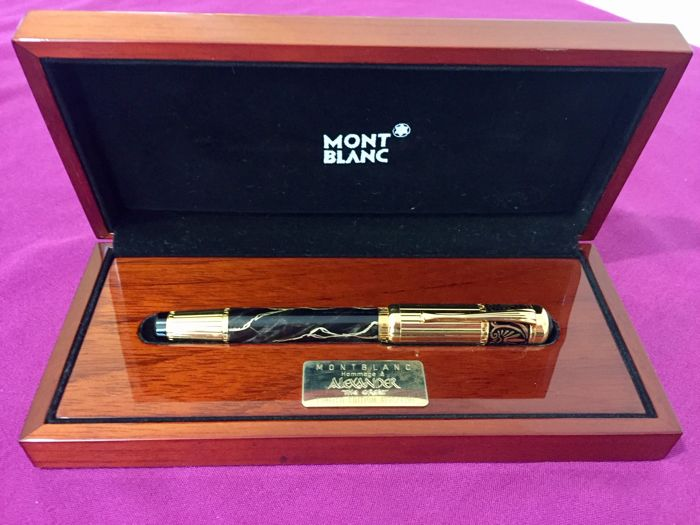 Montblanc Patron of Art 'Alexander the Great'