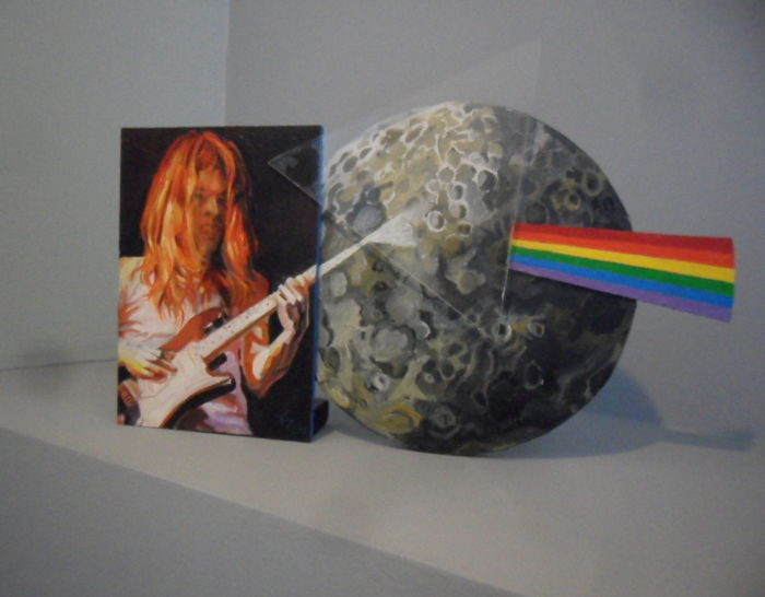Pink Floyd  3D Art Object
