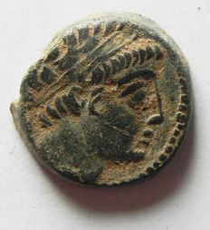 Greek Antiquity - SELEUKID KINGS of SYRIA. Demetrios II Nikator. First reign, 146-138 BC. Tyre mint. AE 21
