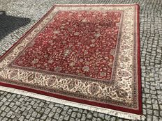 LIKE NEW INDO-TABRIZ RUG with Persian Design /Hand knotted - 315x245 cm