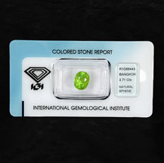Sphene – 3.71 ct