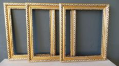 Three picture frames - England - 20th century