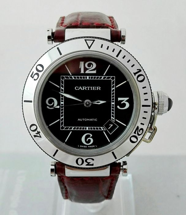 Cartier Pasha Seatimer Ref. 2790 - 42 mm Automatic 100 Mt. - Men's - 2012