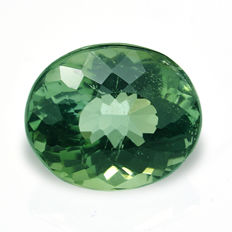 Green verdelite tourmaline – 1.42 ct - No Reserve Price