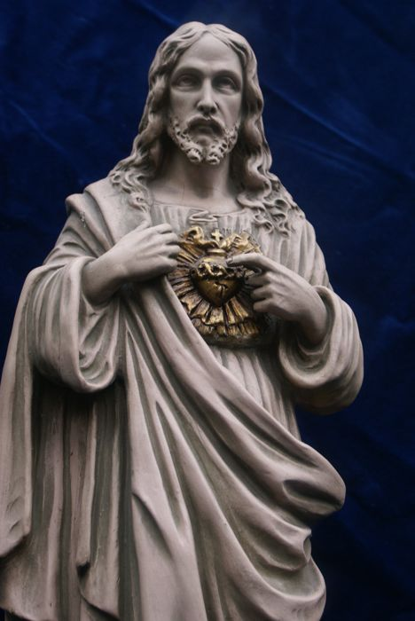 great robust holy statue or Jesus Christ proposed holy - Catawiki