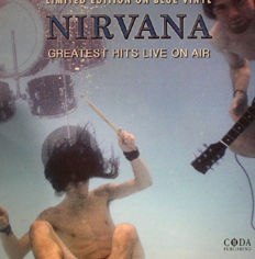 Lots Off 3 Live Albums By Nirvana, Greatest Hits Live On Air Limited Edition Color Blue, Live At Paradiso, Amsterdam - November 25th, 1991 180 Grams, Broadcasting Live KAOS-FM April 17th, 1987 & SNL-TV 1992 180 Grams