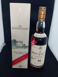 The Macallan 10 years old -  100 Proof  - bottled in the 1980s - OB