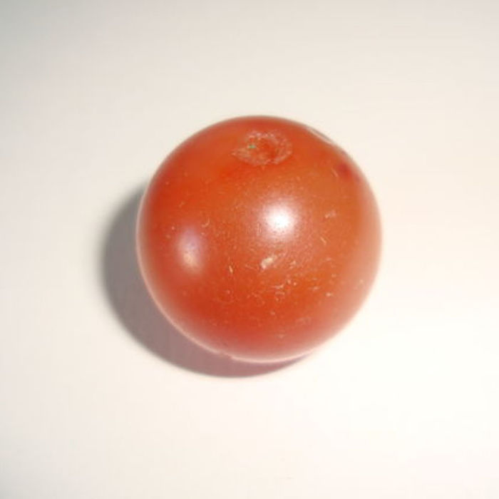 A Pyu Culture carnelian bead  - 19 mm