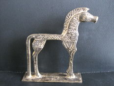 Unknown Artist - Geometric Bronze Horse