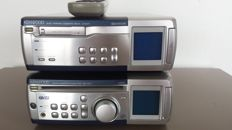 Kenwood RD-VH7 Stereo amplifier/tuner/CD & X-VH7 Auto reverse tape deck with remote control - 1990s Japan