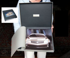 Cadillac Evoq Roadster Concept 1999, numbered, exclusive  presskit.  PLUS the 1997 Cadilac Seville presskit, just as fine.