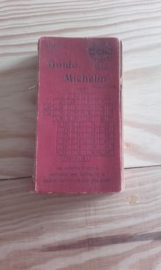 Red Guide Michelin - 1923