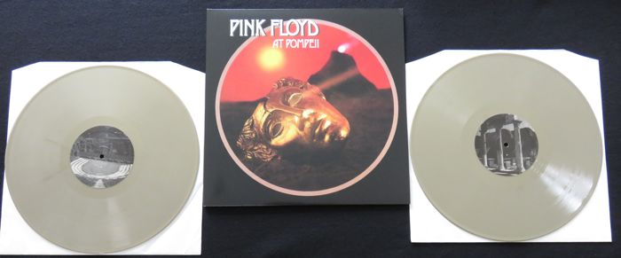 Pink Floyd - Pompeii * Very limited (500 copies), numbered 2LP on GOLD coloured vinyl * Beautiful gatefold sleeve....