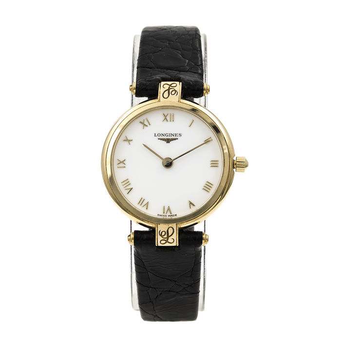 18 kt gold - Longines - Model 9327175 - Ladies' watch