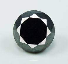 Black Diamond – 3.10 ct - No reserve
