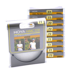 10x Hoya HMC UV (0) filter 77mm - Nieuw! (1831)
