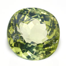 Green tourmaline (verdelite) – 1.34 ct – No reserve price.