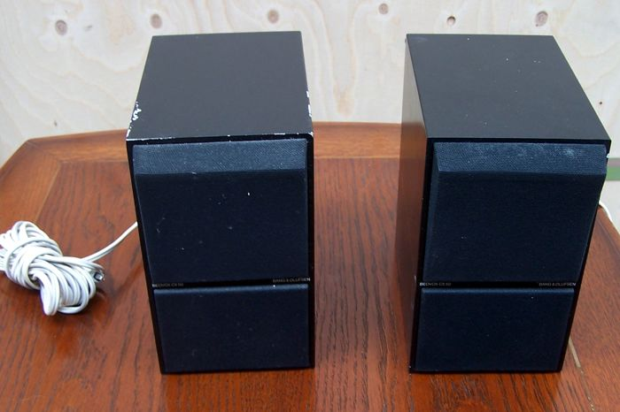Two black Beovox CX 50 of Bang & Olufsen
