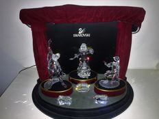 Swarovski - Masquerade-series (3) - theatre with lighting display (3) - plaque (3)