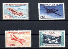 France 1954 - Airmail, prototypes -