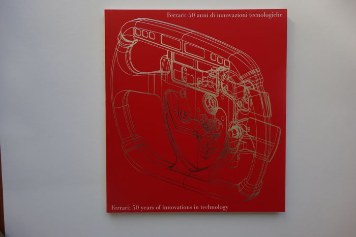 Ferrari 50 Years of Innovations book
