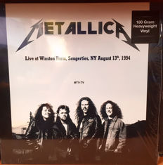 Lots Of 4 Live Albums All on 180 Grams, 2 Lp Metallica Live at Winston Farm NY 1994 HQ 180 Grams, Metallica ‎– Live At Hammersmith Odeon, London. September 21th 1986, AC/DC ‎– Live At Agora Ballroom, Cleveland, August 22, 1977, AC/DC ‎– Live At Old Waldo