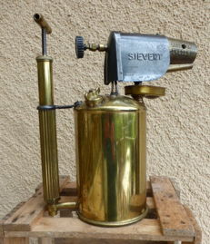 Max Sievert - copper plumber's gas burner - type 263