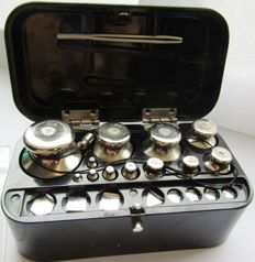 Large set of laboratory scales - USSR Nizhny Tagil - 1978