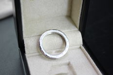 BVLGARI B. Zero 1 ring in white gold - 18 kt white gold - size 24