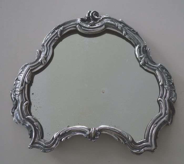 Louis Quinze surtout de table (part), now to use as a mirror, 18th century