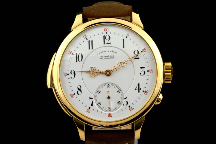 A. Lange & Söhne - Minute Repeater Marriage watch   - Men - 1850-1900