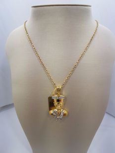 18ct Yellow Gold Egyptian Charm of AMON (from a Set Collection)