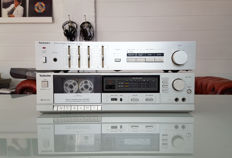 Vintage Technics Stereo integrated Amplifier + Tape deck